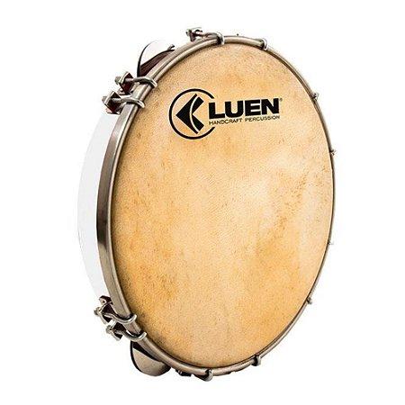 Pandeiro Luen Percussion 10 Fórmica Cromadas Pele Cabra
