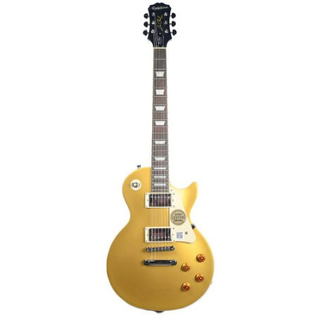 Guitarra Epiphone Les Paul Standard Metallic Gold