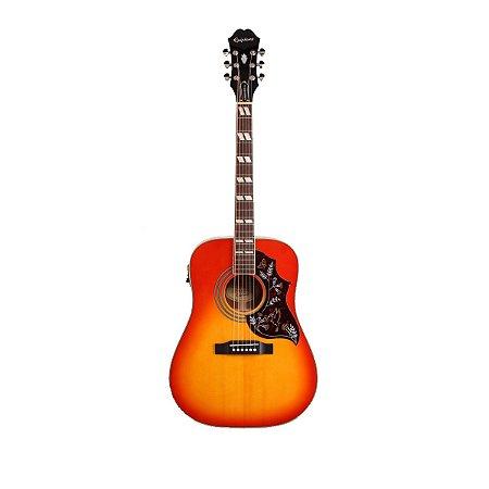 Violão Eletro-Acústico Epiphone Hummingbird Pro Folk Faded