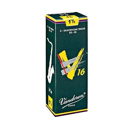 Palheta Vandoren V16 Nº 1,5 para Sax Tenor