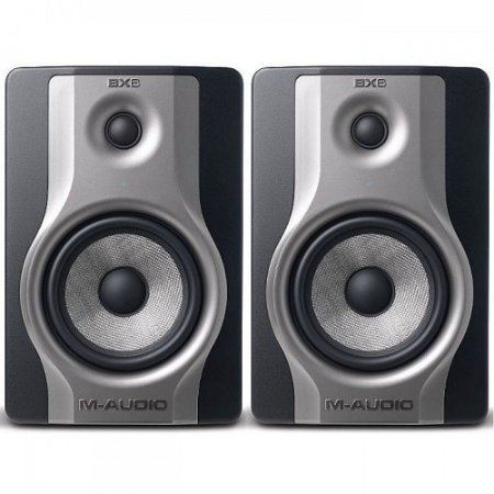 """Monitor de Referência M-Audio BX6 Carbon 1x6"""" 130w (Par)"""