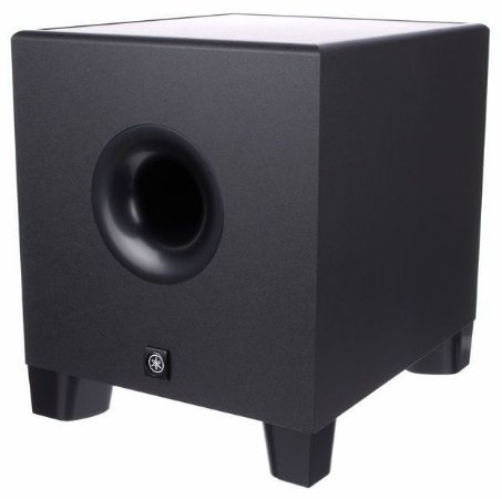 "Monitor de Referência Subwoofer Yamaha HS8S 1x8"" 150w"