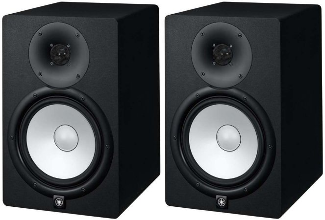 "Monitor de Referência Ativo Yamaha HS5 1x5"" 45w (Par)"
