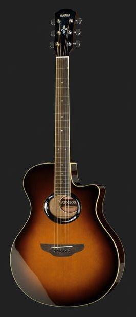 Violão Yamaha APX500 III Ativo Folk Sunburst