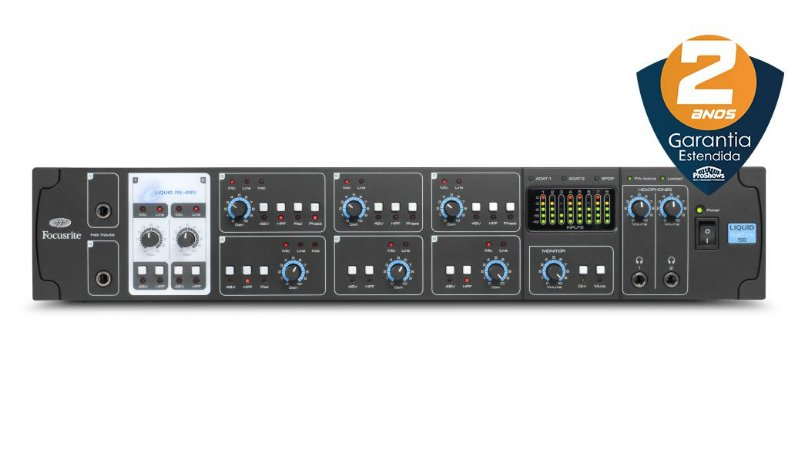 Interface de Áudio Focusrite Liquid Saffire 56