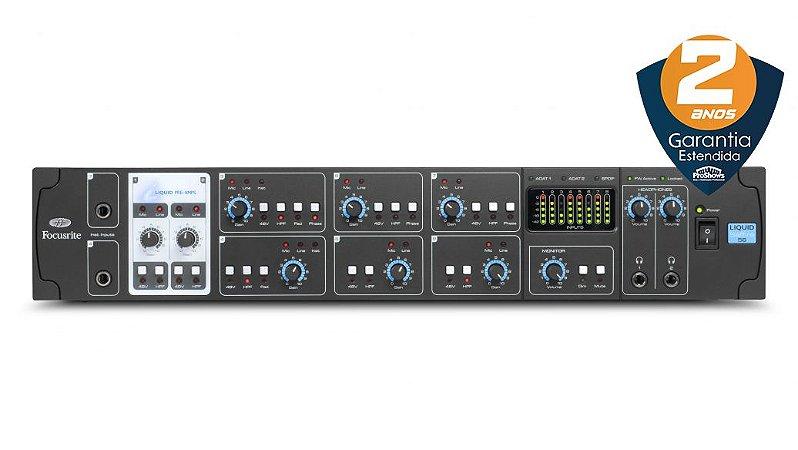 Interface de Áudio Focusrite Liquid Saffire 56