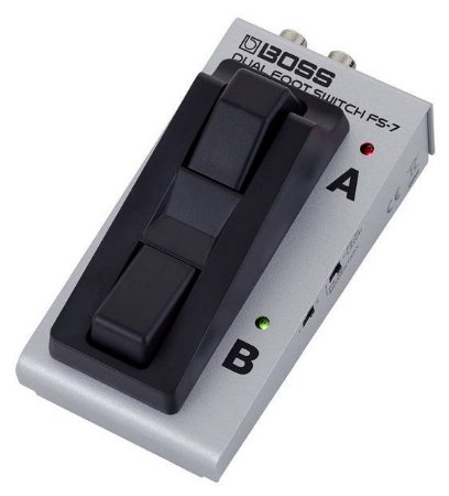 Pedal Footswitch Boss FS7 Dual Foot