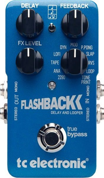 Pedal de Efeitos TC Electronic Delay Flashback