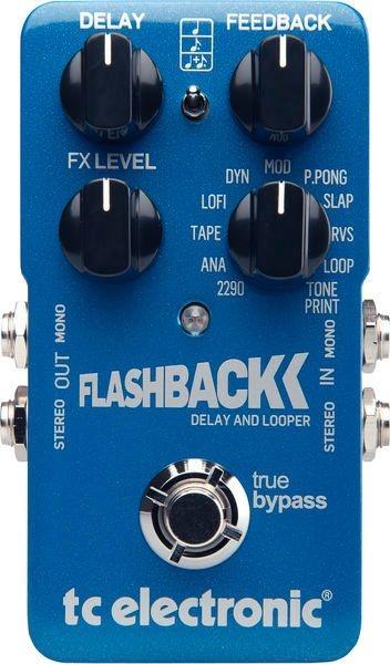 Pedal de Efeitos TC Electronic Delay Flashback para Guitarra