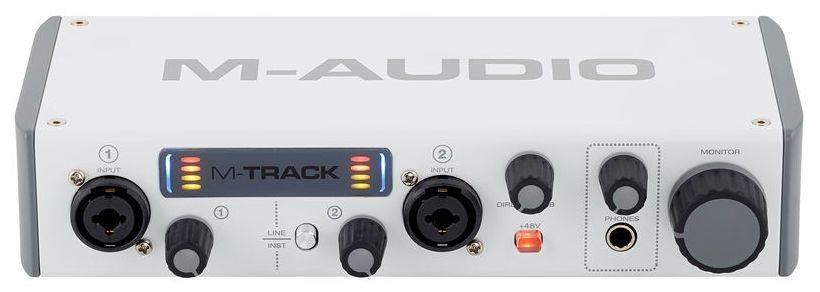 Interface de Áudio M-Audio M-Track MKII