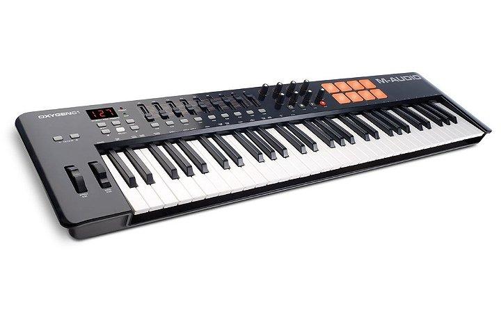 Teclado Controlador M-Audio OXYGEN 61 IV 61 Teclas