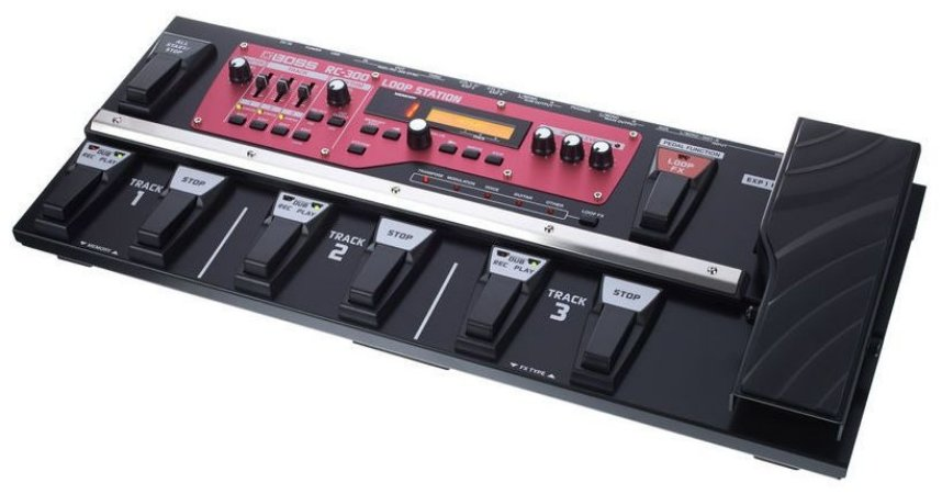 Pedaleira Boss RC300 Loop Station