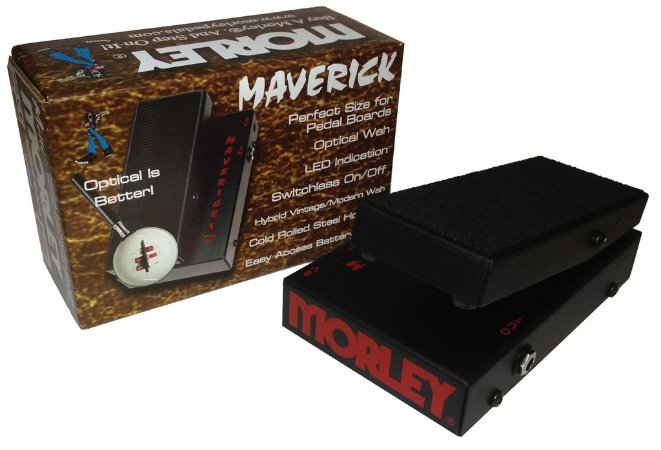 Pedal de Expressão Morley MSW Maverick Mini-Switchelss