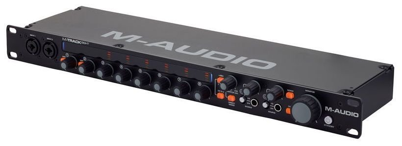 Interface de Áudio M-Audio M-Track Eight