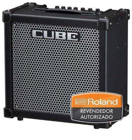 "Caixa Amplificada Roland Cube 80 GX 80w 1x12"" para Guitarra"