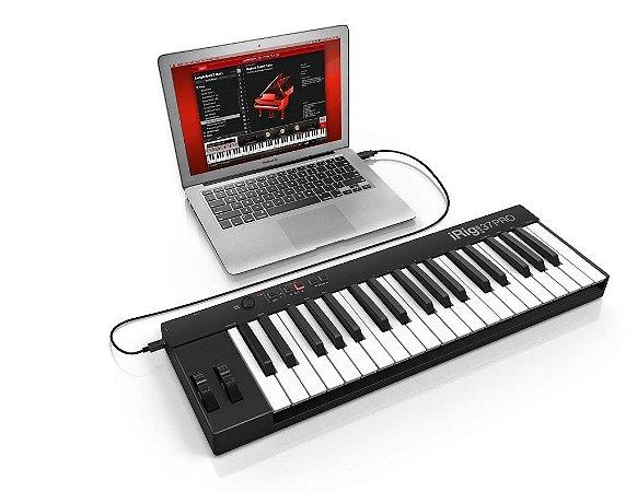 Teclado Controlador IK Multimedia iRig Keys 37 Pro 37 Teclas