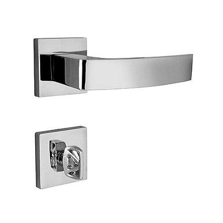 Fechadura Quadratta Cr Banheiro - 40 Mm