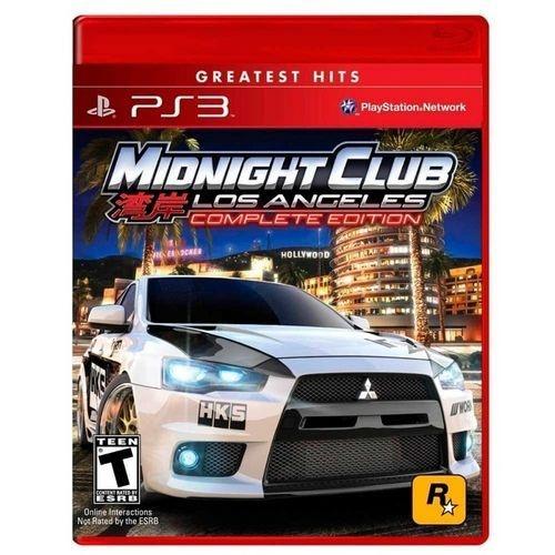 Midnight Club: Los Angeles Complete Edition - Ps3 ( USADO )