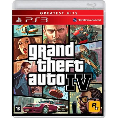 GTA 4 - PS3 ( USADO )
