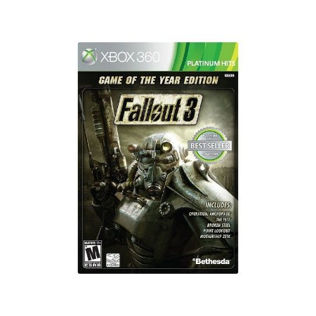 FALLOUT 3 GAME OF THE YEAR - XBOX 360 ( USADO )