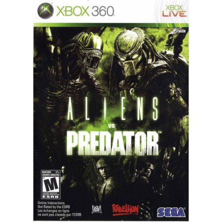 Aliens Vs Predador - Xbox 360 ( USADO )