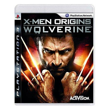X Men Origins Wolverine - Ps3 ( USADO )