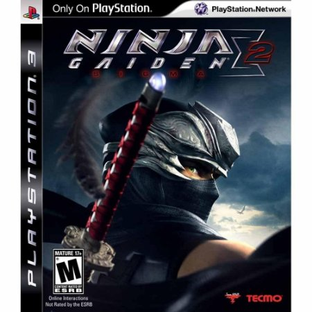 Ninja Gaiden Sigma 2 - PS3 ( USADO )