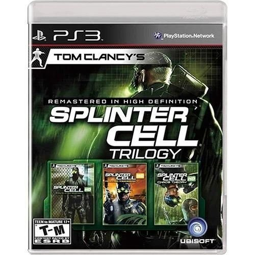 Tom Clancy's Splinter Cell Trilogy - PS3 ( USADO )