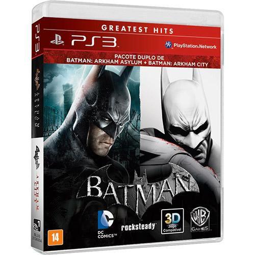 Batman: Arkham Asylum + Arkham City - PS3 ( USADO )