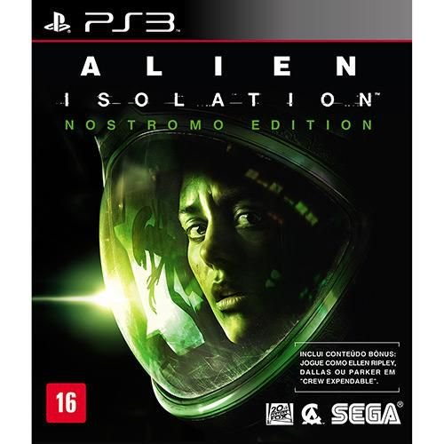Alien Isolation - Nostromo Edition - PS3 ( USADO )