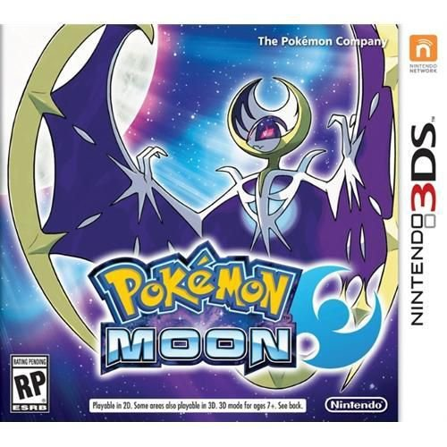 Pokémon Moon - 3ds ( USADO )