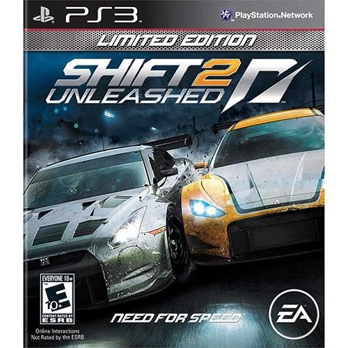 Need For Speed Shift 2 Unleashed Limited E. Ps3 ( USADO )