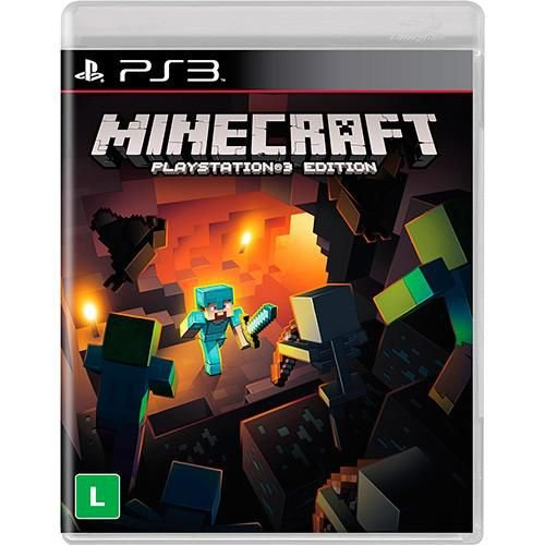 Minecraft - PS3 ( USADO )