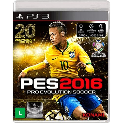 Pes 16 - Pro Evolution Soccer 2016 - PS3 ( USADO )