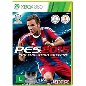 PES 15 Pro Evolution Soccer 2015 - Xbox 360 ( USADO )