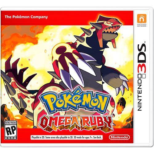 Pokémon Omega Ruby - 3DS ( USADO )