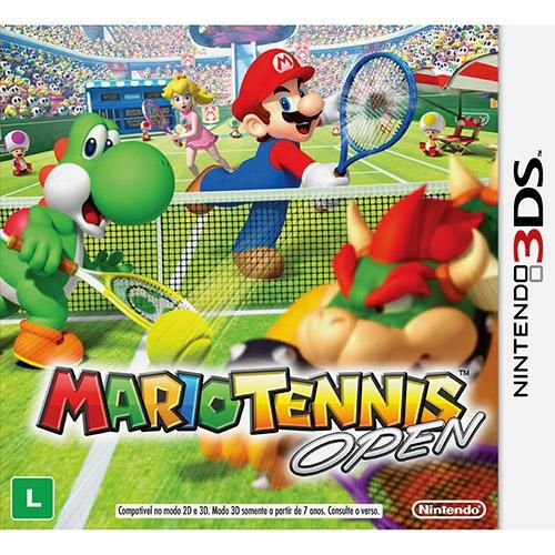 Mario Tennis Open - 3DS ( USADO )