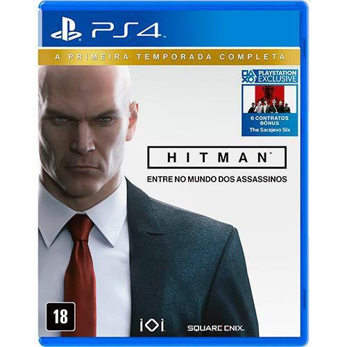Hitman: A Primeira Temporada Completa - PS4 ( USADO )