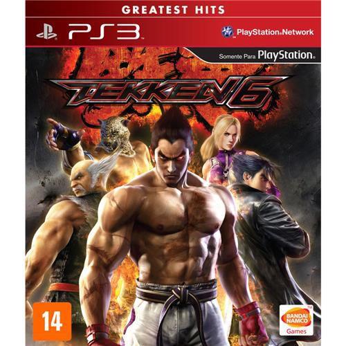 Tekken 6 - Ps3 ( USADO )
