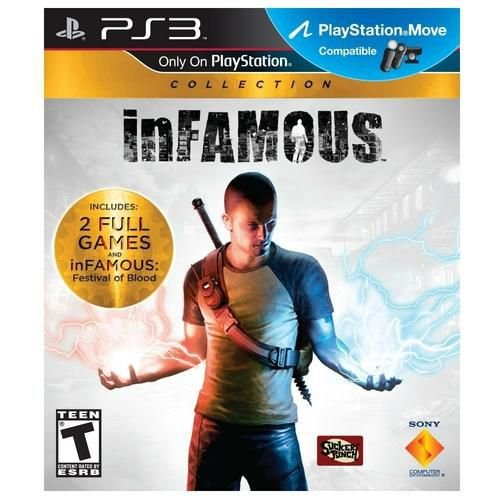 Infamous Collection - Ps3 ( USADO )