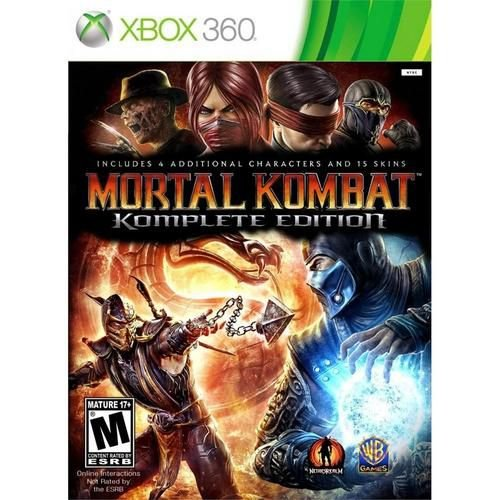 Mortal Kombat - Xbox 360 ( USADO )
