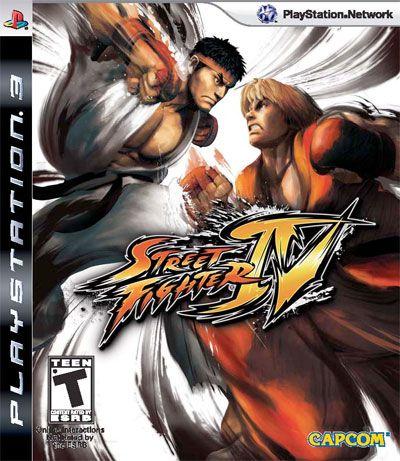 Street Fighter IV - PS3 ( USADO )
