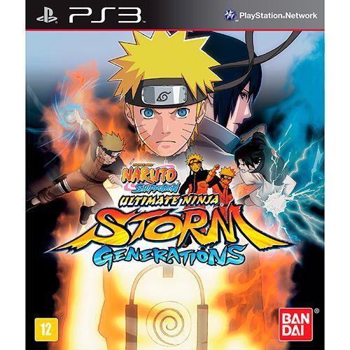 Naruto Shippuden: Ultimate Ninja Storm Generations - PS3 ( USADO )