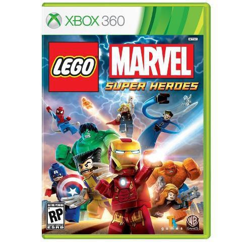 Lego Marvel Super Heroes - Xbox 360 ( USADO )