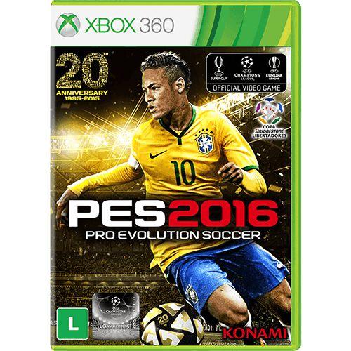 Pes 16 Pro Evolution Soccer 2016 - Xbox 360 ( USADO )