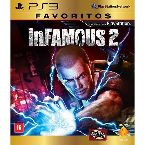 Infamous 2 - PS3 ( USADO )