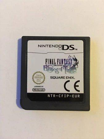 Final Fantasy Echoes Of Time - Nintendo Ds Europeu ( Usado Só o cartucho )