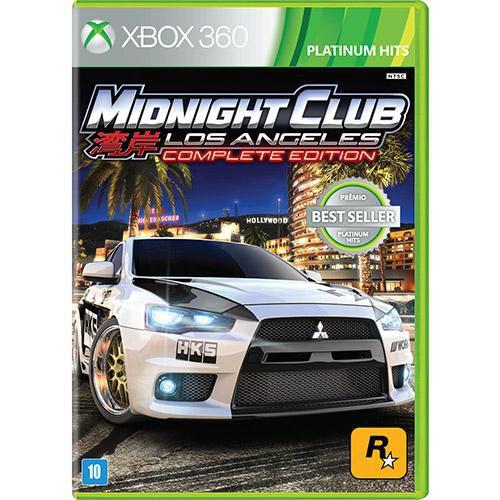 Midnight Club Los Angeles: Complete Edition - Xbox 360 ( USADO )