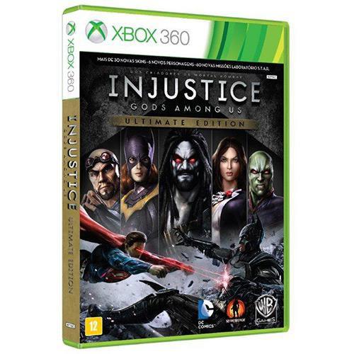 Injustice - Gods Amoung us - XBOX 360 ( USADO )