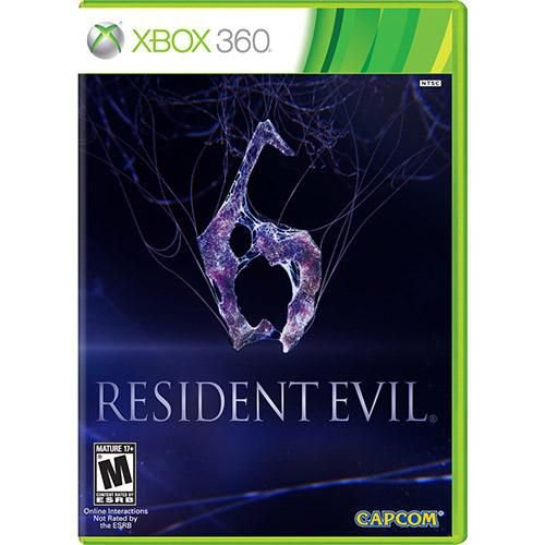 Resident Evil 6 - Xbox 360 ( USADO )